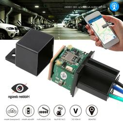 10-40V GPS Tracker Relay Cut Oil Mini Hidden Real-time Track