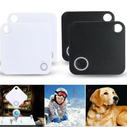 2/4Pack Anti-lost GPS Bluetooth Tracker Pet Kids Wallet Key