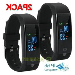 2Smart Watch Fitness Tracker Fitbit Bluetooth Step Caolorie