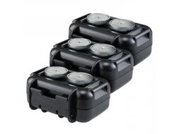 3 Pack Spytec M2 Waterproof Magnetic Case for STI GL300 Real