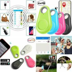 4 Pack Tile GPS Tracker Trackr Cell Phone Bluetooth Anti Wal