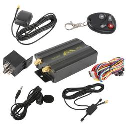 Realtime Auto Vehicle Car Spy GPS Tracker Alarm System Remot