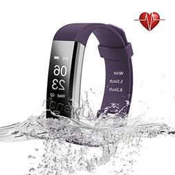 Ulvench Fitness Tracker, Heart Rate Monitor Smart Watch with