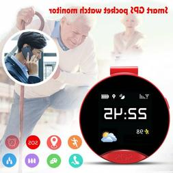 Anti-lost Elderly adults GPS Tracker SOS Call Smart Pocket W