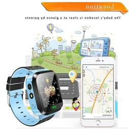 Anti Lost Smart Watch Tracker GPS Locator SOS for Android IO