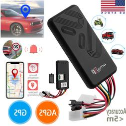 Car GPS Tracker GSM SIM GPRS Real Time Tracking Device Locat