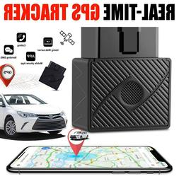 GPS Tracker OBD2 Real Time Vehicle Tracking Device OBD II Ca