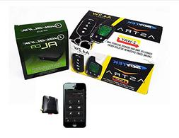 Car Remote Start 2 Way LCD Security GPS Tracking Mobile Phon