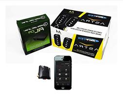 Car Security Remote Start Mobile App GPS Tracking Scytek A4