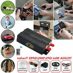 For Car TK103A GPRS GSM SMS Vehicle Car GPS Tracker Tracking