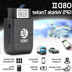 Car Vehicle OBD2 OBDII Real Time GPS Tracker GSM GPRS Tracki