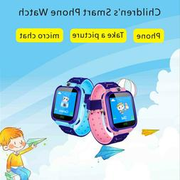 Children's DS39 Fashion Smart Phone Watch Wrist GPS Tracker