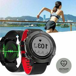 F7 GPS Running Watch Smartwatch Fitness Tracker Walking Hear