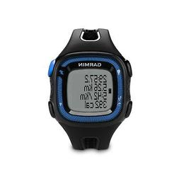 Garmin Forerunner 15 Bundle Large, Black/Blue
