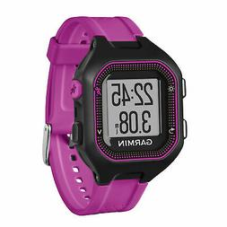 Garmin Forerunner 25 GPS Running Watch Black/Purple Size Sma
