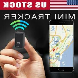 GF07 Mini Magnetic GPS Tracker Real-time Car Vehicle Locator