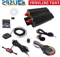 GPRS GSM SMS Vehicle Car GPS Tracker TK103A Tracking Device