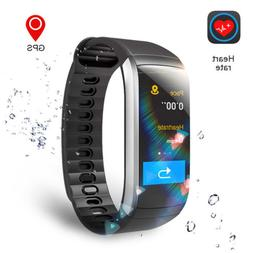 GPS Fitness Tracker Sports Watch Heart Rate Monitor Bracelet
