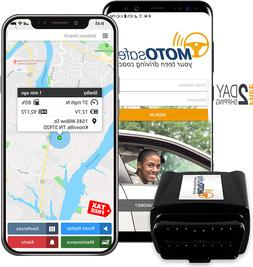 GPS Tracker for Vehicles - MOTOsafety 4G Real Time OBD Track
