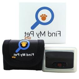 Find My Pet GPS Tracker locates cats finds dogs use with sma