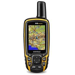 Garmin GPSMAP 64 Worldwide with High-Sensitivity GPS and GLO