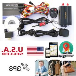 New GSM / GPS / GPRS Car Tracker Vehicle GPS103B TK103B Alar