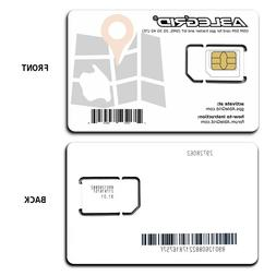 GSM SIM Cards for GPS Tracker and LoT SMS 2G 3G 4G LTE