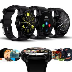 GSM Unlocked 3G Smart Watch & Phone Android 4.4 Fitness Trac