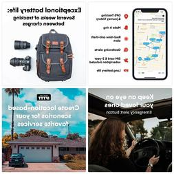 Invoxia GPS Tracker - for Vehicle, Car, Motorcycle, Bike, Se