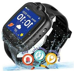 Smartwatch for Kids, GPS Tracker with SOS Alarm Cl