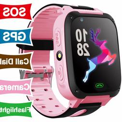 Kid Smart Watch included GPS Tracker phone for Birthday gift