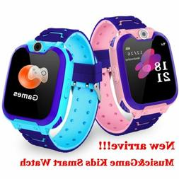 Kids Smart Watch Anti-lost GPS Fitness Tracker SOS Call Came