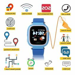 Kids Smart Watch With GPS Phone WIFI SOS Tracker For Childre