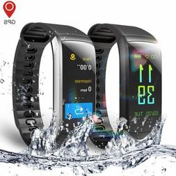 KR02 IP68 Waterproof Smart Watch Men Women GPS Running Watch