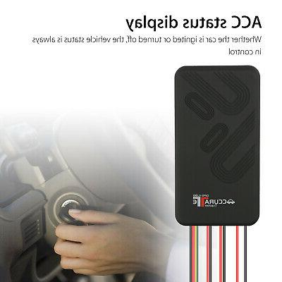 Real GSM Tracking for Car Vehicle Bike