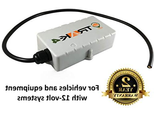 Trak-4 12v GPS Tracker with Wiring Harness for Tracking Assets