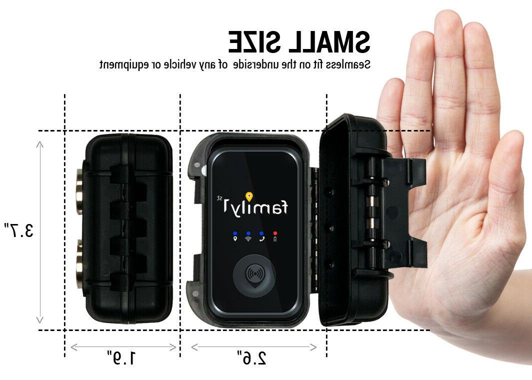 Family1st 4G Real-Time Tracker Water Resistant Magnetic