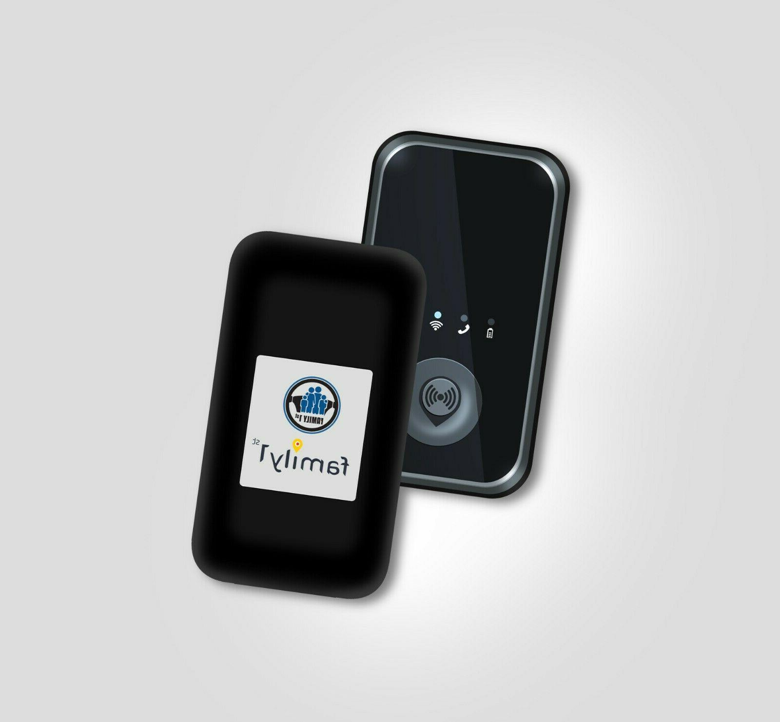 Family1st 4G LTE Tracker- Compact, Portable, Tracking