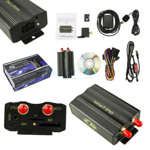 New Car Tracker Vehicle GPS103A TK103A System/With box