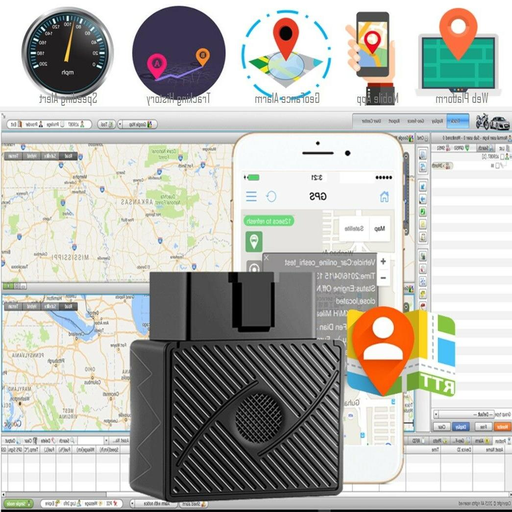 OBD II GPS Real Device Locator