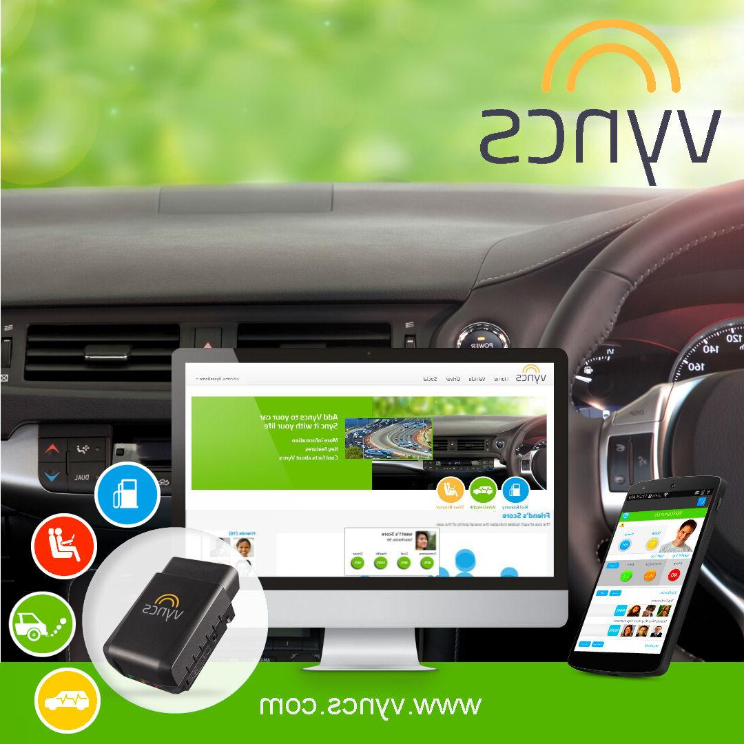 Vyncs: No Monthly 3G Link, Tracking, Trips, Diagnostics, Safety and