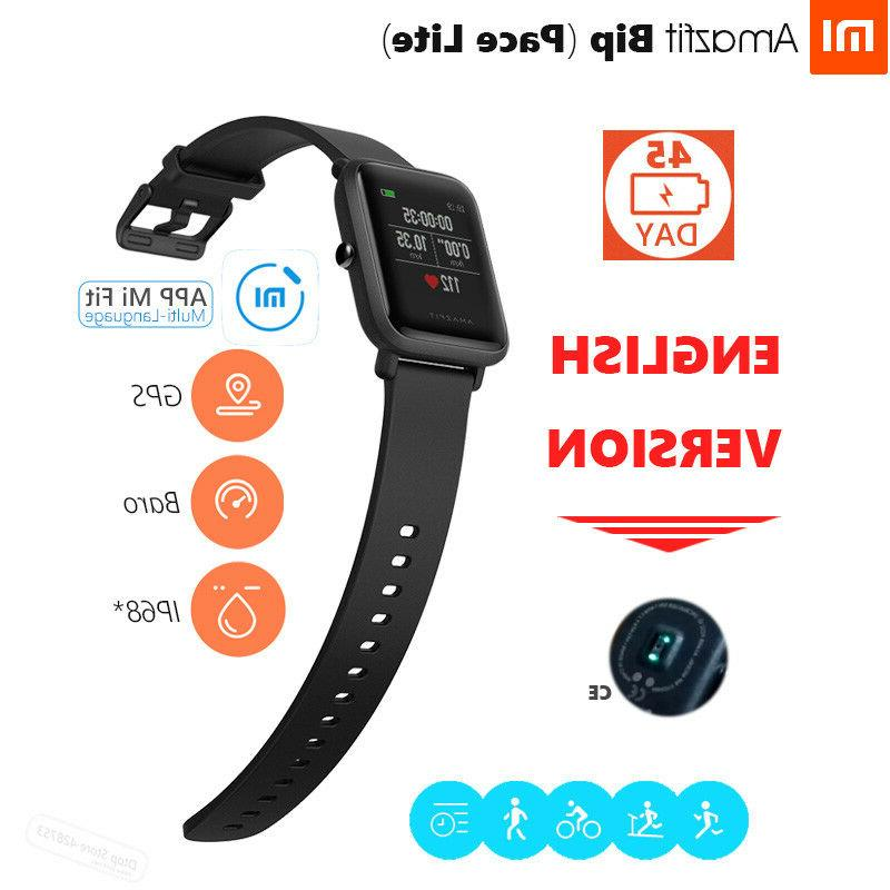 Amazfit Bip Smartwatch by Huami Activity Tracker, IP68 Waterproof