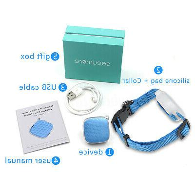 Anti-Lost Dog Cat GPS Tracker Real Tracking Device