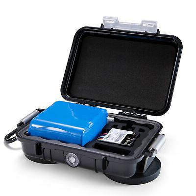 SpyTec battery_case_microtrack Extended Battery + Waterproof