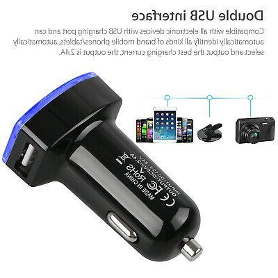 Car Locator Real Time Tracking Dual USB Adapter
