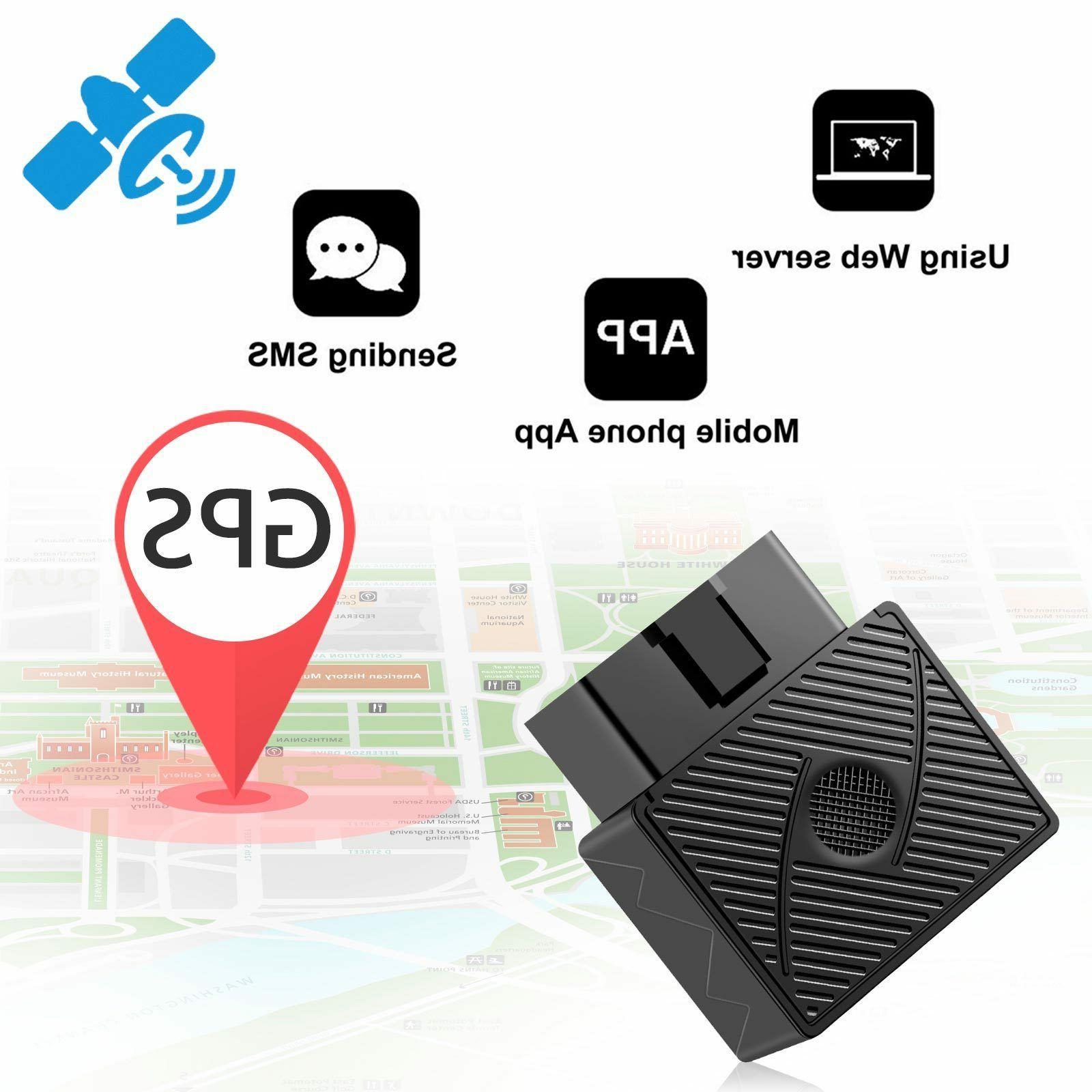 GPS Tracker Real Time OBD Locator