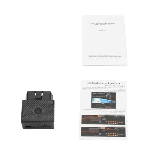 OBD2 Real Time Vehicle Tracking Device Truck Locator