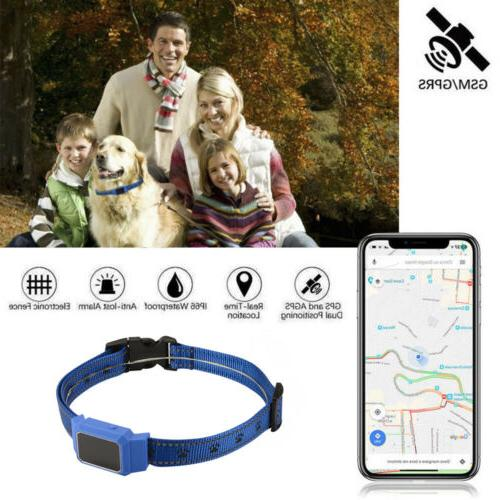 Mini Dog Cat Collar Anti-lost Pet Locator GPS GSM GPRS Track
