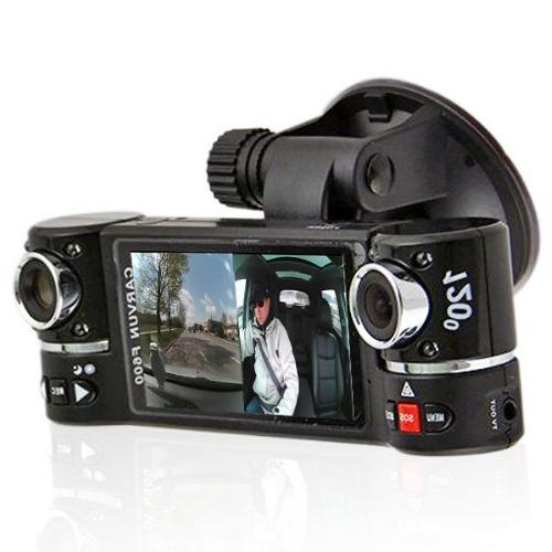 dash cam tft dual rotated