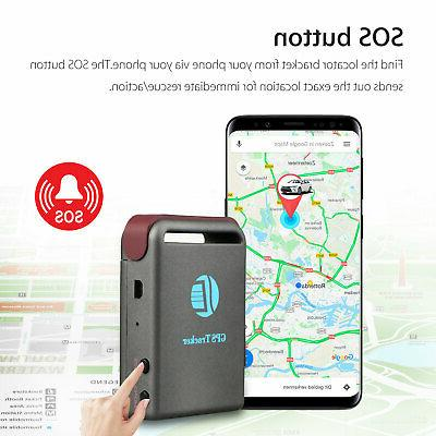 Magnetic Tracker time Vehicles Car Tracking device GPRS